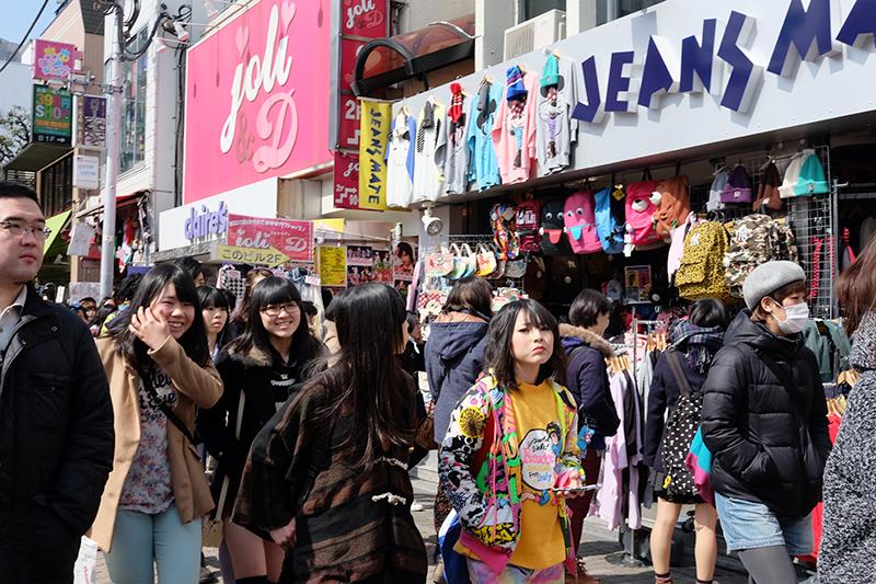 Harajuku Japanese Fashion kawaii Takeshita Dori Tokyo