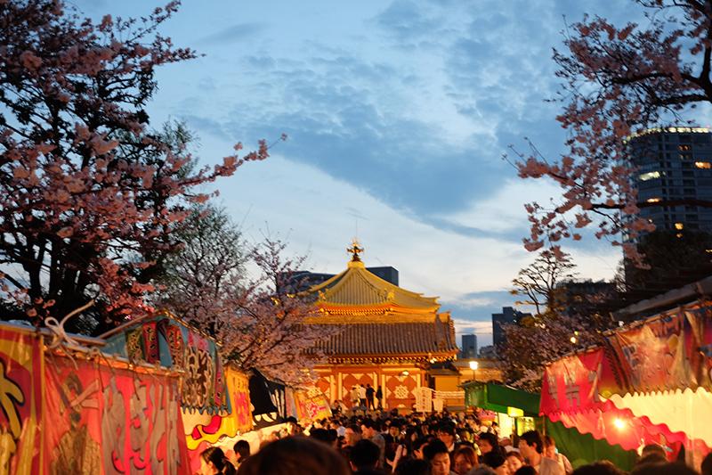 Hanami in Ueno